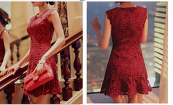 Ảnh số 24: váy ren - Giá: 450.000