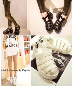 Ảnh số 78: Giày sandals Gladiator 7 phân quai hậu - 280.000VND - Giá: 280.000