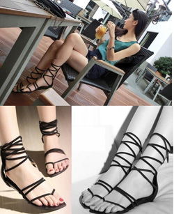 ?nh s? 58: Giày sandals dây cột cao - 240.000VND - Giá: 240.000