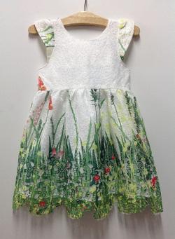 Ảnh số 57: Đầm ren xơ mướp - Giá: 1.000