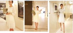 Ảnh số 36: váy sợi vải 100% cotton rủ mềm - Giá: 420.000