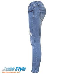 Ảnh số 43: Quần jean nữ rách JEANS 6001 - Giá: 420.000