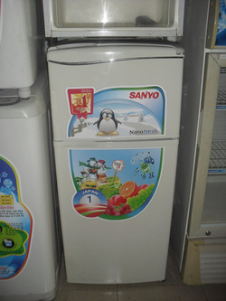 Ảnh số 2: Tủ lạnh Sanyo 110 lít - Giá: 1.600.000