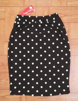 Ảnh số 4: Sale jupe chấm bi vải Hàn quốc, co dãn - Giá: 150.000