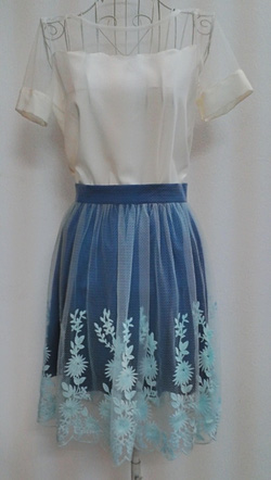 Ảnh số 53: Chân váy ren - Giá: 250.000
