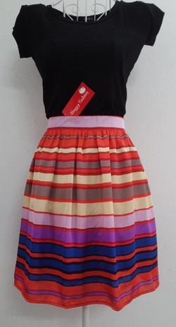 ?nh s? 58: Chân váy kẻ vải Hàn Quốc 2 lớp - Giá: 220.000