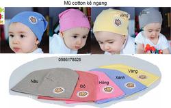 Ảnh số 19: Mũ cotton kẻ, freesize từ 10th-18th - Giá: 50.000