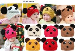 Ảnh số 33: Mũ len hình panda, freesize từ 3th-6th - Giá: 65.000