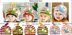 Ảnh số 38: Mũ len hình ếch, freesize từ 1t-2t - Giá: 75.000