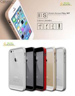 Ảnh số 2: Viền bumper hàn quốc cho iphone 5/5s Colorant B1 S - Giá: 550.000