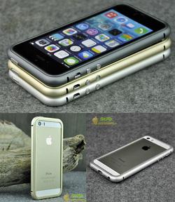 Ảnh số 12: Viền kim loại bo tròn nguyên khối cho iphone 5/5s - Giá: 400.000
