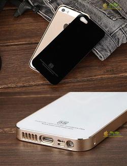 Ảnh số 15: Viền kim loại kèm nắp kính cho iphone 5s - Giá: 450.000