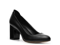 Ảnh số 15: Giày Calvin Klein size 5.5  Giày pump kín mũi màu đen , đế silicon đi cực êm  Cao 6cm - Giá: 2.200.000