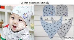 Ảnh số 28: Bộ cotton họa tiết gấu, freesize từ 10th-24th - Giá: 85.000