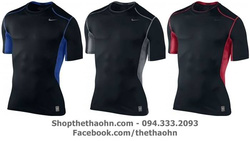 Ảnh số 57: Nike Pro Combat Hypercool T-shirt - Giá: 320.000