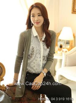 Ảnh số 2: Áo cardigan Hàn Quốc 240801 - Giá: 1.300.000