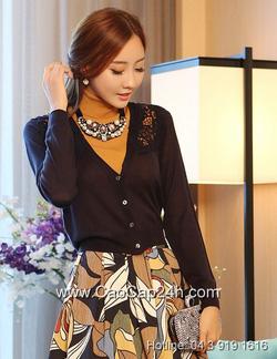 Ảnh số 5: Áo cardigan Hàn Quốc 240804 - Giá: 1.110.000