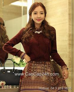 Ảnh số 9: Áo cardigan Hàn Quốc 290807 - Giá: 1.430.000
