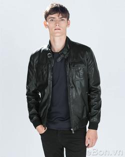 Ảnh số 6: Áo khoác da nam Zara mã AK07 - Giá: 1.050.000
