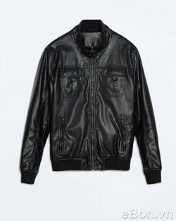 Ảnh số 8: Áo khoác da nam Zara mã AK07 - Giá: 1.050.000