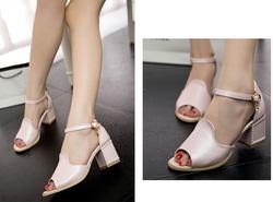 Ảnh số 50: Giày sandals 5 phân quai ngang bảng to - 250k - Giá: 250.000