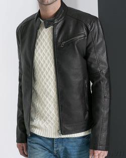 Ảnh số 30: Áo khoác da nam Zara Man ATD121 - Giá: 1.050.000