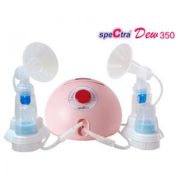 Máy hút sữa điện đôi Spectra DEW 350 - Tặng máy hâm sữa