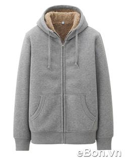 Ảnh số 45: Áo khoác nỉ nam lông cừu Uniqlo xuất Nhật AK11 - Giá: 495.000