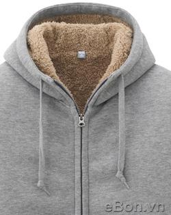 Ảnh số 46: Áo khoác nỉ nam lông cừu Uniqlo xuất Nhật AK11 - Giá: 495.000