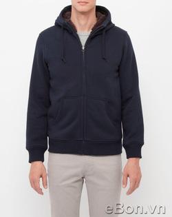 Ảnh số 47: Áo khoác nỉ nam lông cừu Uniqlo xuất Nhật AK11 - Giá: 495.000