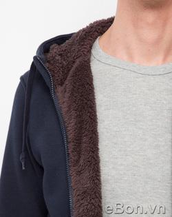 Ảnh số 48: Áo khoác nỉ nam lông cừu Uniqlo xuất Nhật AK11 - Giá: 495.000