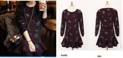Ảnh số 58: bộ váy cotton - Giá: 390.000