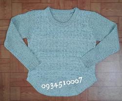Ảnh số 59: Áo len dày, vạt tròn, 4 màu - Giá: 220.000