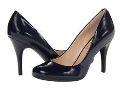 Ảnh số 81: Giày Jessica Simpson size 5.5, 6, 6.5  Giày pump da bóng màu xanh navy  Gót cao 9cm - Giá: 1.300.000