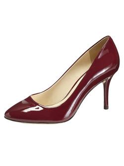 Ảnh số 93: Giày Vince Camuto size 6.5, 7  Giày pump da bóng mũi nhọn màu đỏ đun, đế gỗ sang trọng   Cao 8.5cm , giá gốc $195 - Giá: 2.200.000