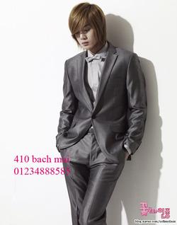 Ảnh số 1: vest 1 khuy màu ghi sáng - Giá: 1.700.000