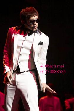 Ảnh số 3: vest 1 khuy màu trắng - Giá: 1.800.000