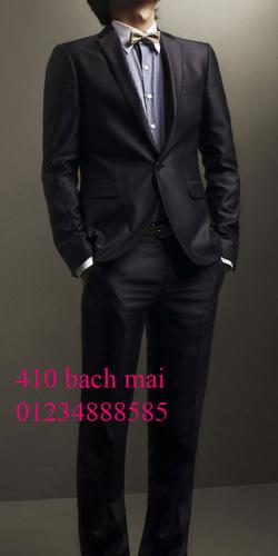 Ảnh số 4: vest 1 khuy màu xanh đen - Giá: 2.000.000