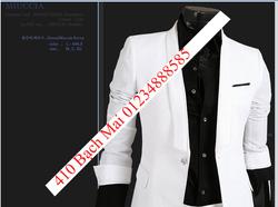 Ảnh số 95: vest trắng cổ tròn không pha - Giá: 2.300.000