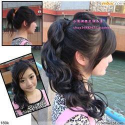 Ảnh số 1: tóc buộc phủ dây - Giá: 250.000