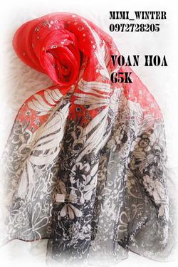 Ảnh số 24: Khăn Hoa - Giá: 100.000