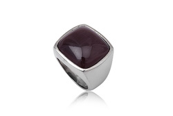 Ảnh số 45: Nhẫn nam, nhẫn burberry style, măng séc bạc mặt đá quý cài tay áo sơ mi (đã bán) - Giá: 330.000