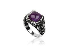 Ảnh số 79: Nhẫn nam, nhẫn burberry style, măng séc bạc mặt đá quý cài tay áo sơ mi (đã bán) - Giá: 680.000