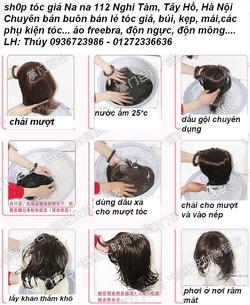 Ảnh số 28: cách gội tóc - Giá: 30.000