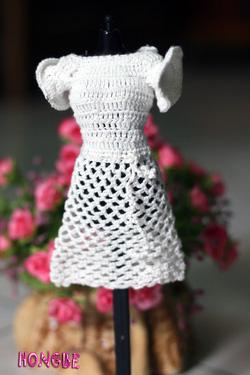 Ảnh số 1: M01 - Váy trắng tay xòe - Giá: 50.000