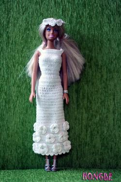 Ảnh số 7: Váy trắng đính hoa - Giá: 80.000