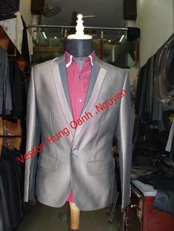 Ảnh số 76: vest đồng bổ ve pha đen - Giá: 1.800.000