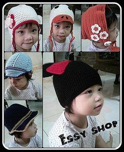 Ảnh số 7: Mũ móc trẻ em - Giá: 1.000