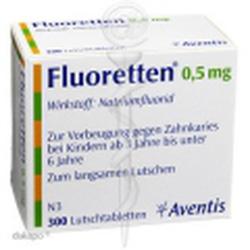 Ảnh số 2: Fluoretten 0,5mg - Giá: 420.000