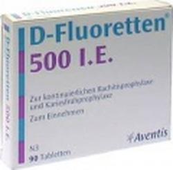 Ảnh số 4: D-fluoretten 500.I.E - Giá: 350.000
